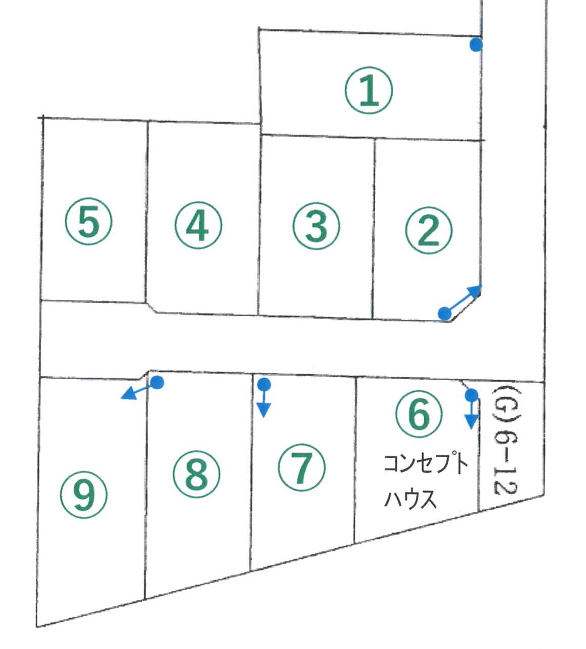 (№1・№2・№6・№7・№8・№9)